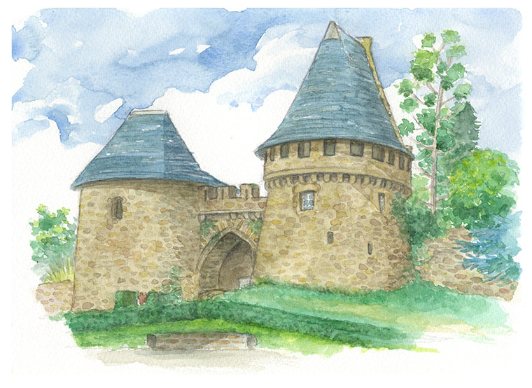Champtoceaux - Porte médiévale