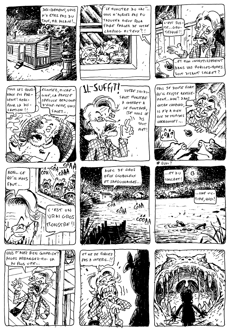 Cadavre exquis page 5 - Funhouse