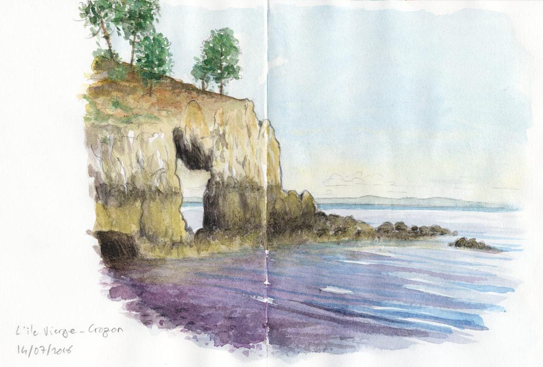 L'île vierge (presqu'île de Crozon)