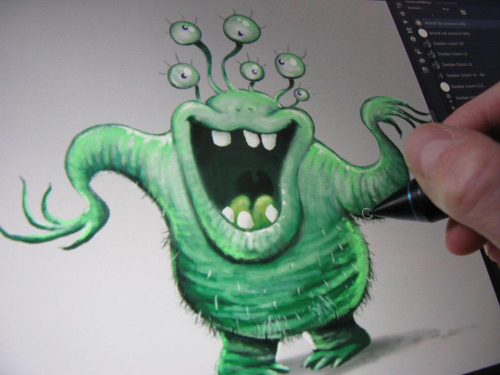 Monstro Parade : monstre végétal