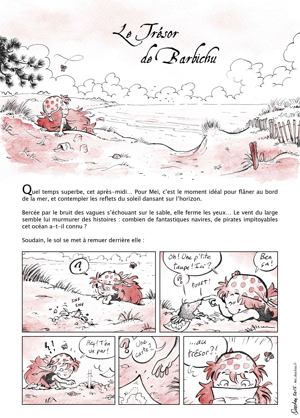 Meï : Le trésor de Barbichi - 1/4