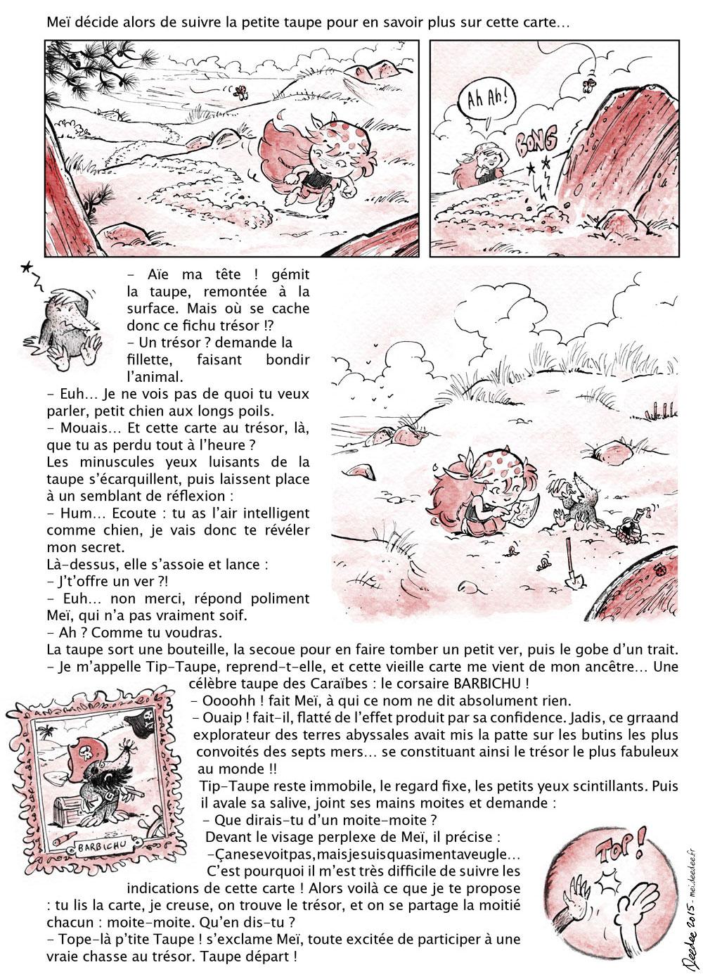 Meï : Le trésor de Barbichi - 2/4
